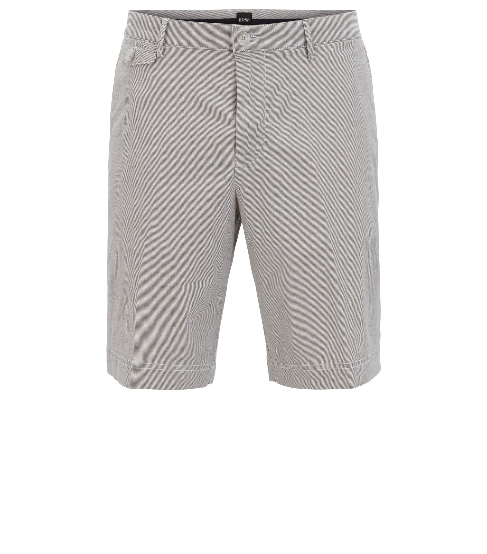 Stretch Gabardine Short, Regular Fit | Crigan Short P W, Dark Blue