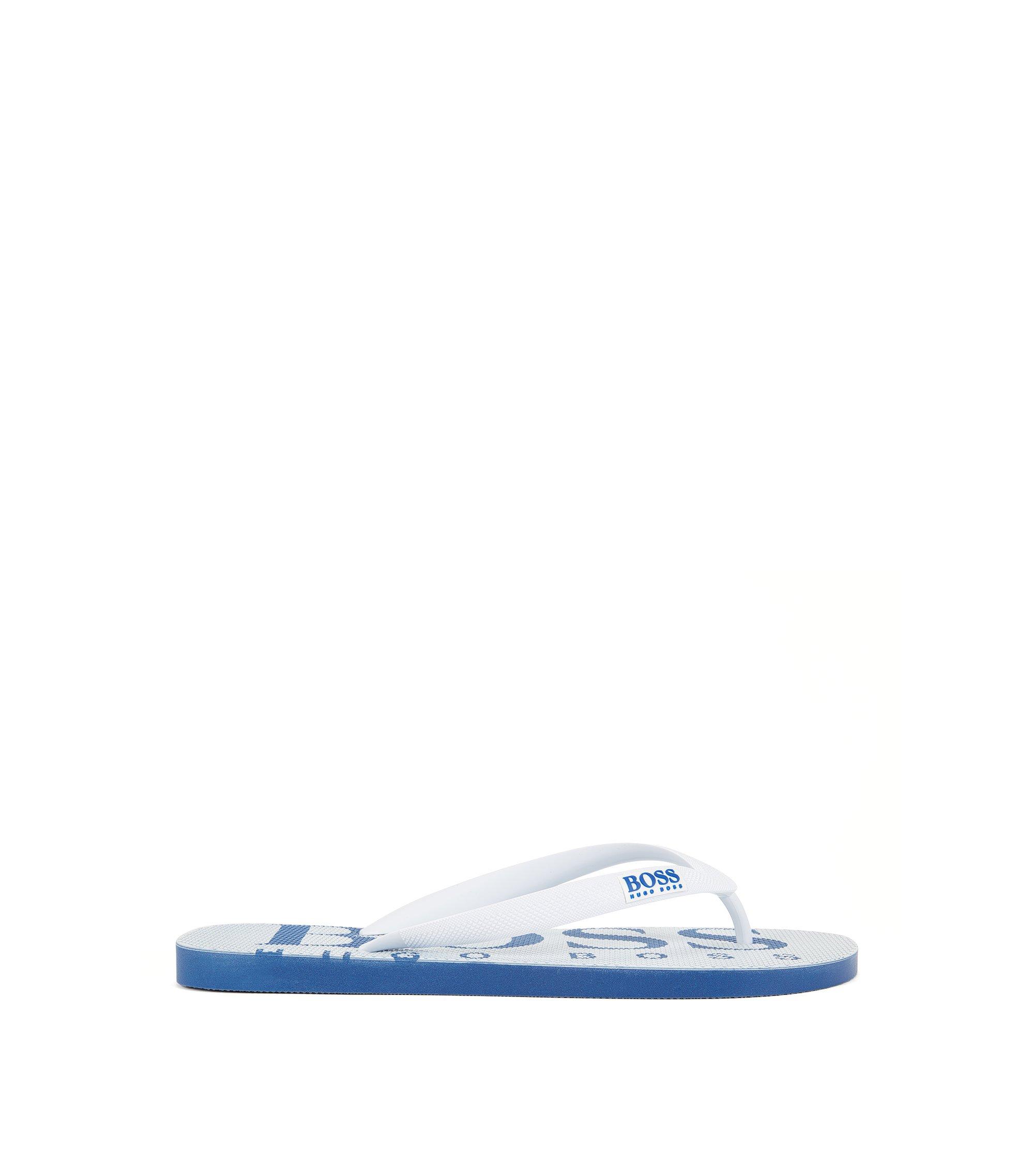 Logo Flip Flop | Wave, White