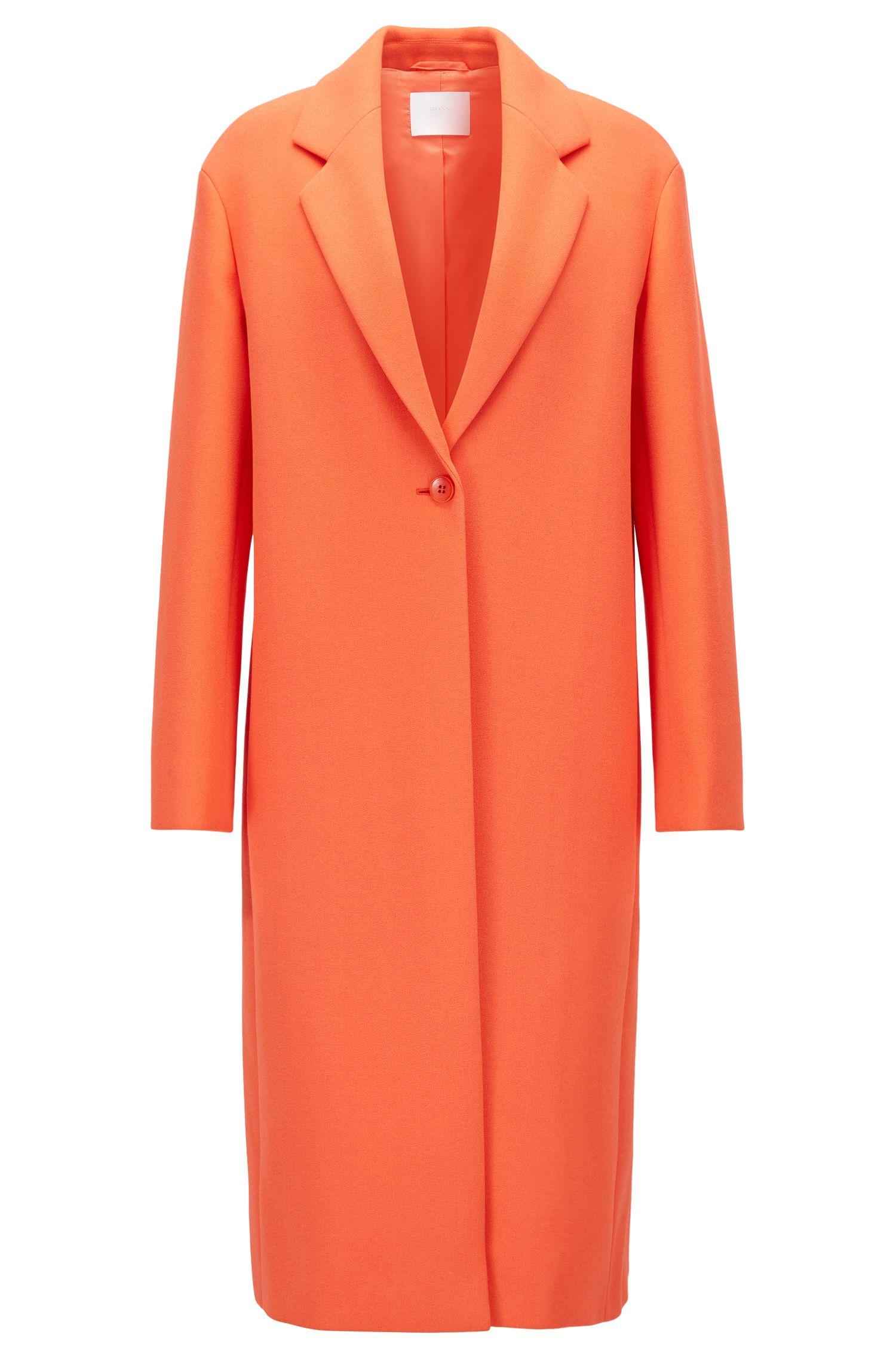 Single-Button Coat | Calenara GC