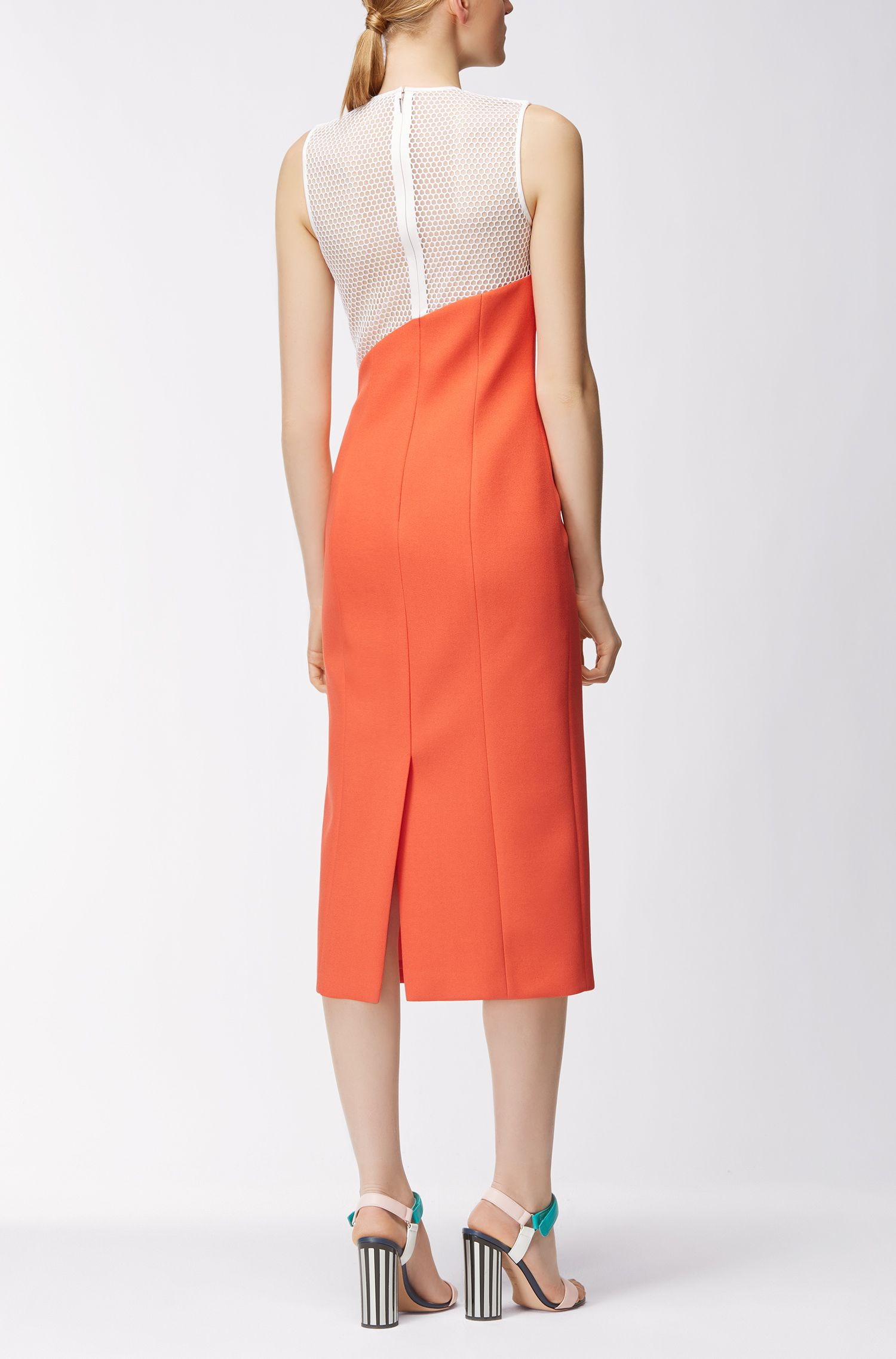 Gallery Collection Crepe Midi Sheath Dress | Dalernira GC