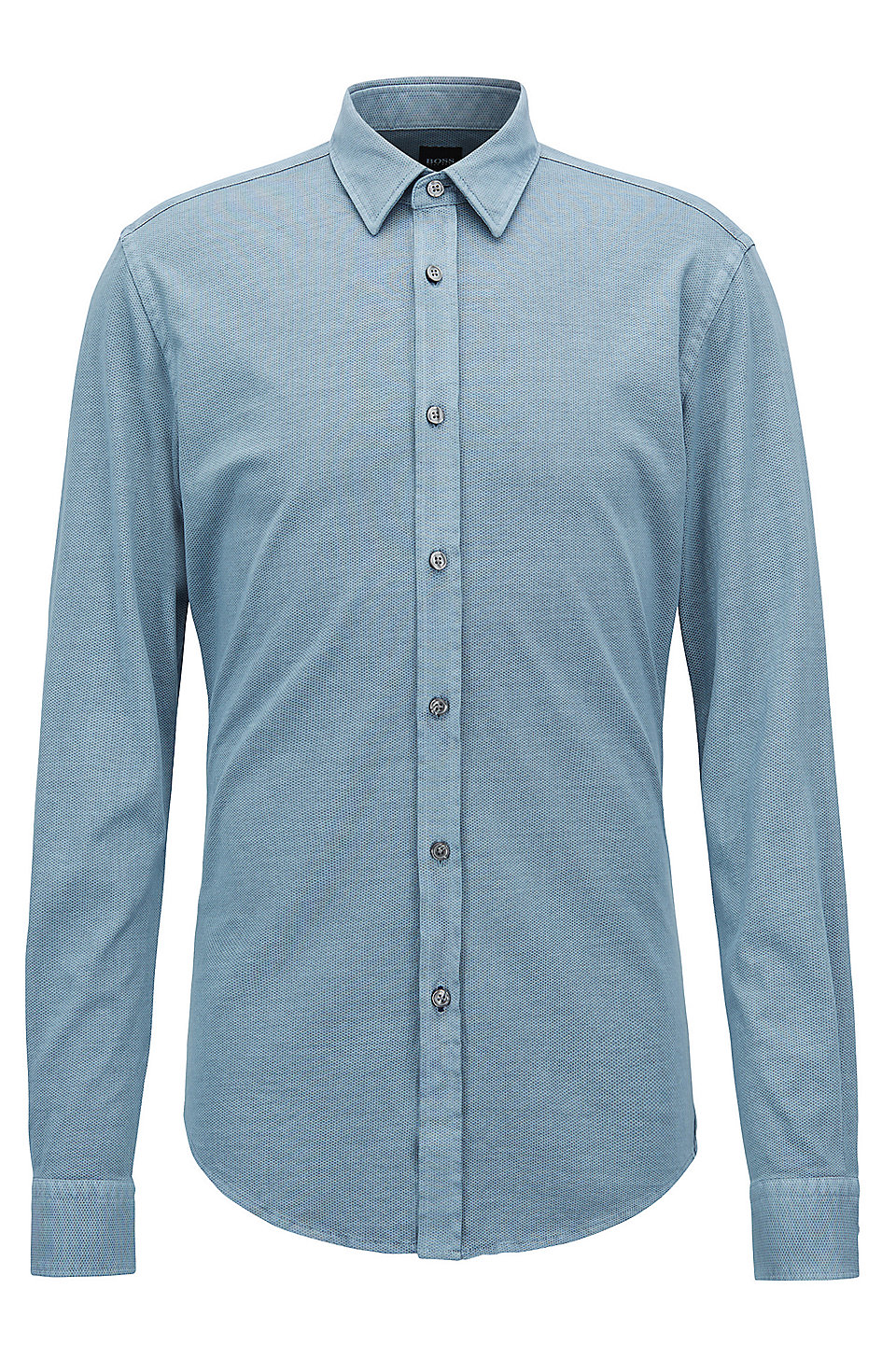 8692ec4a Slim-fit shirt in printed single-jersey cotton. Ronni - 50388902