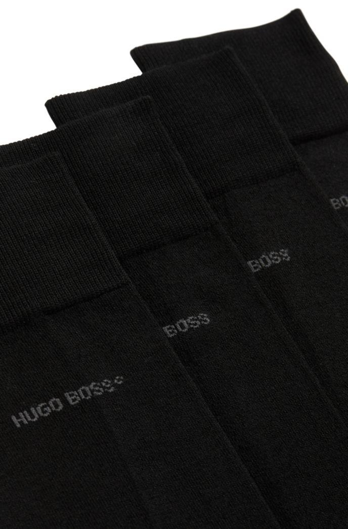 Two-pack of regular-length socks with mercerised Egyptian cotton