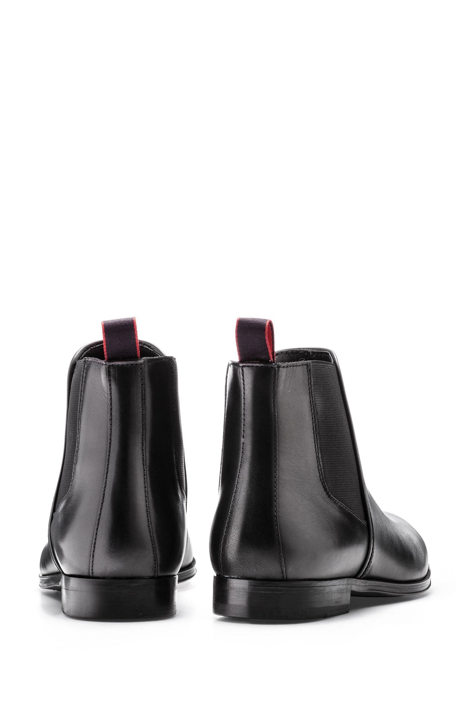 Chelsea boots in smooth calf leather