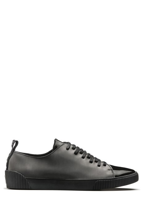 HUGO BOSS Hugo Boss Low-top sneakers paneled uppers 11 Black