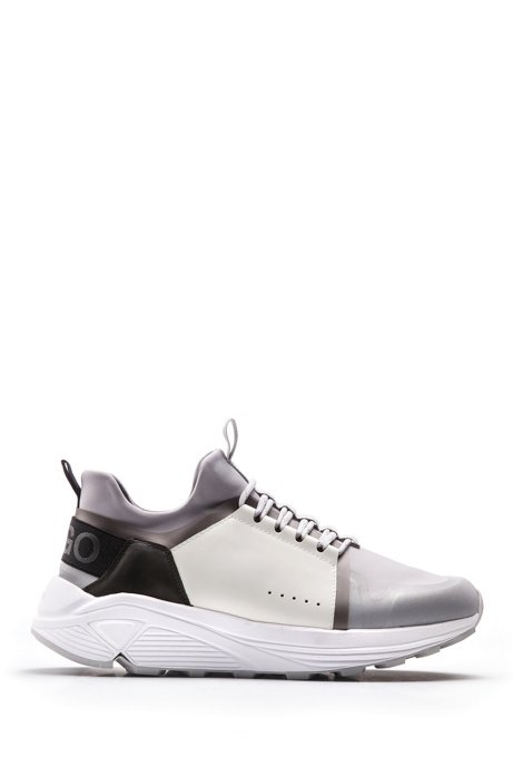 Cheapest Mixed-material trainers with Vibram sole HUGO BOSS Sale Top Quality Best Deals xvf449