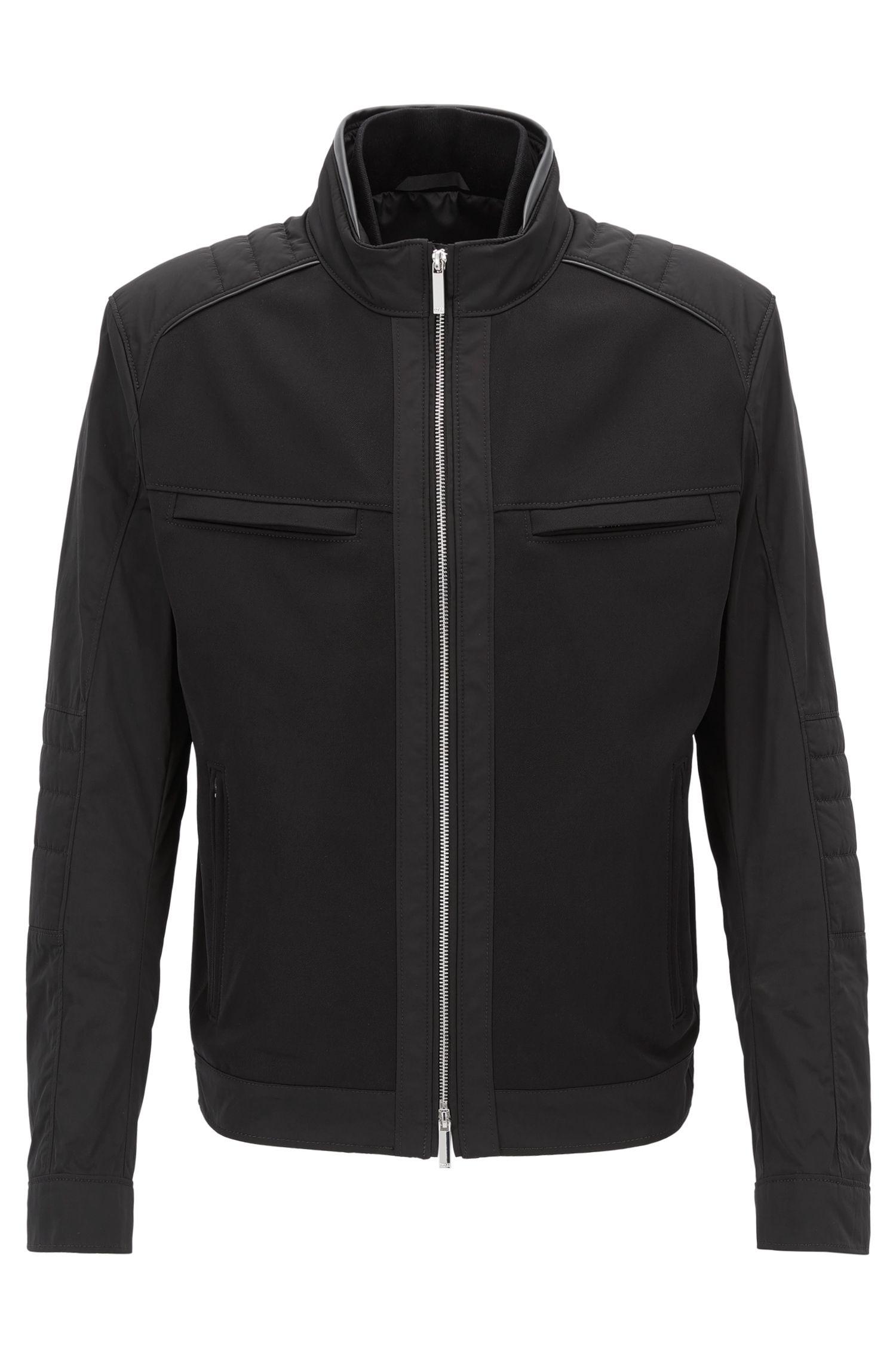 Water-Repellant Moto Jacket | Chead