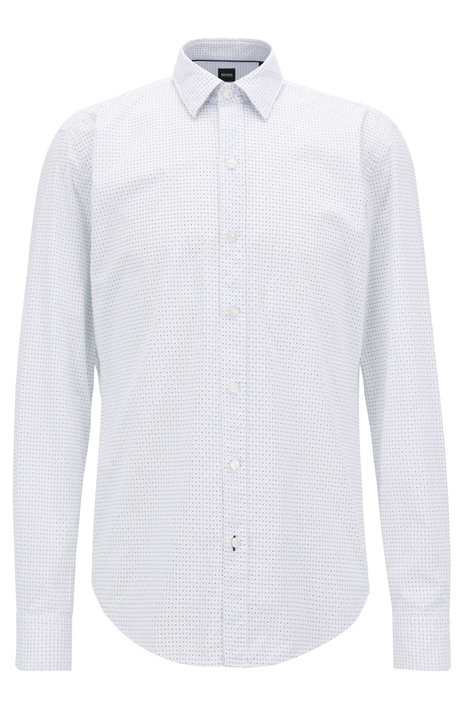 Soft Cotton Shirt, Slim Fit | Robbie