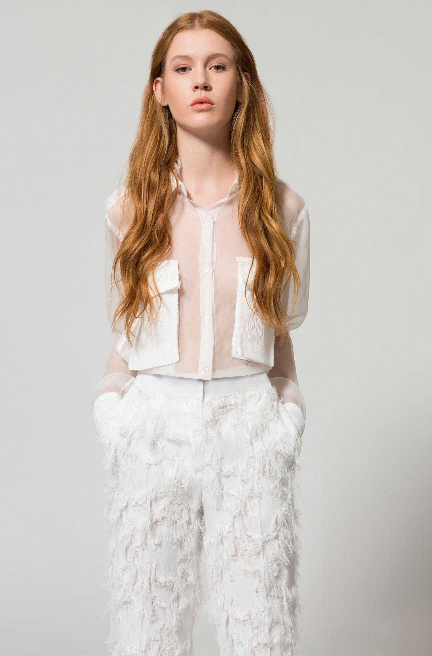 All-Fringe Pant | Hendrea, Natural
