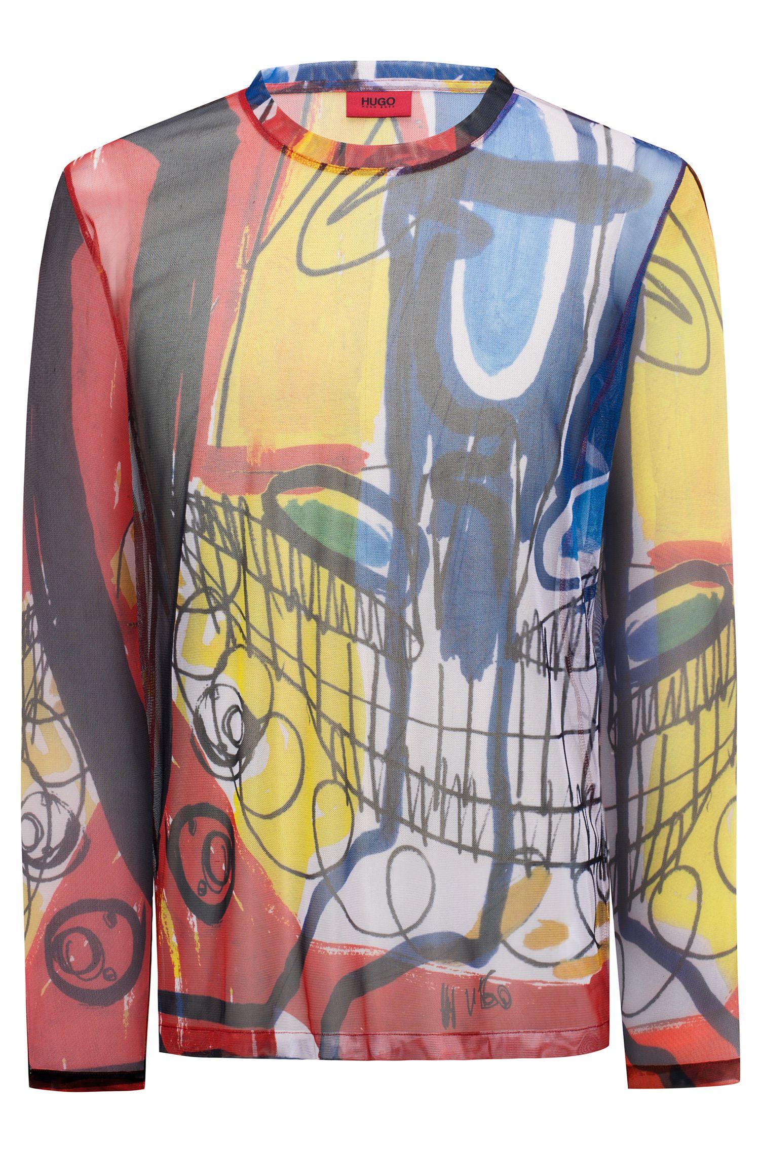 Printed Shirt   Dashy, Patterned
