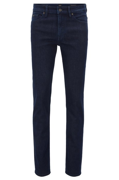 Slim-fit jeans in indigo stretch denim BOSS Cheap Manchester Great Sale With Credit Card Sale Online Free Shipping Brand New Unisex Buy Cheap Countdown Package Clearance Explore Sba8rOV