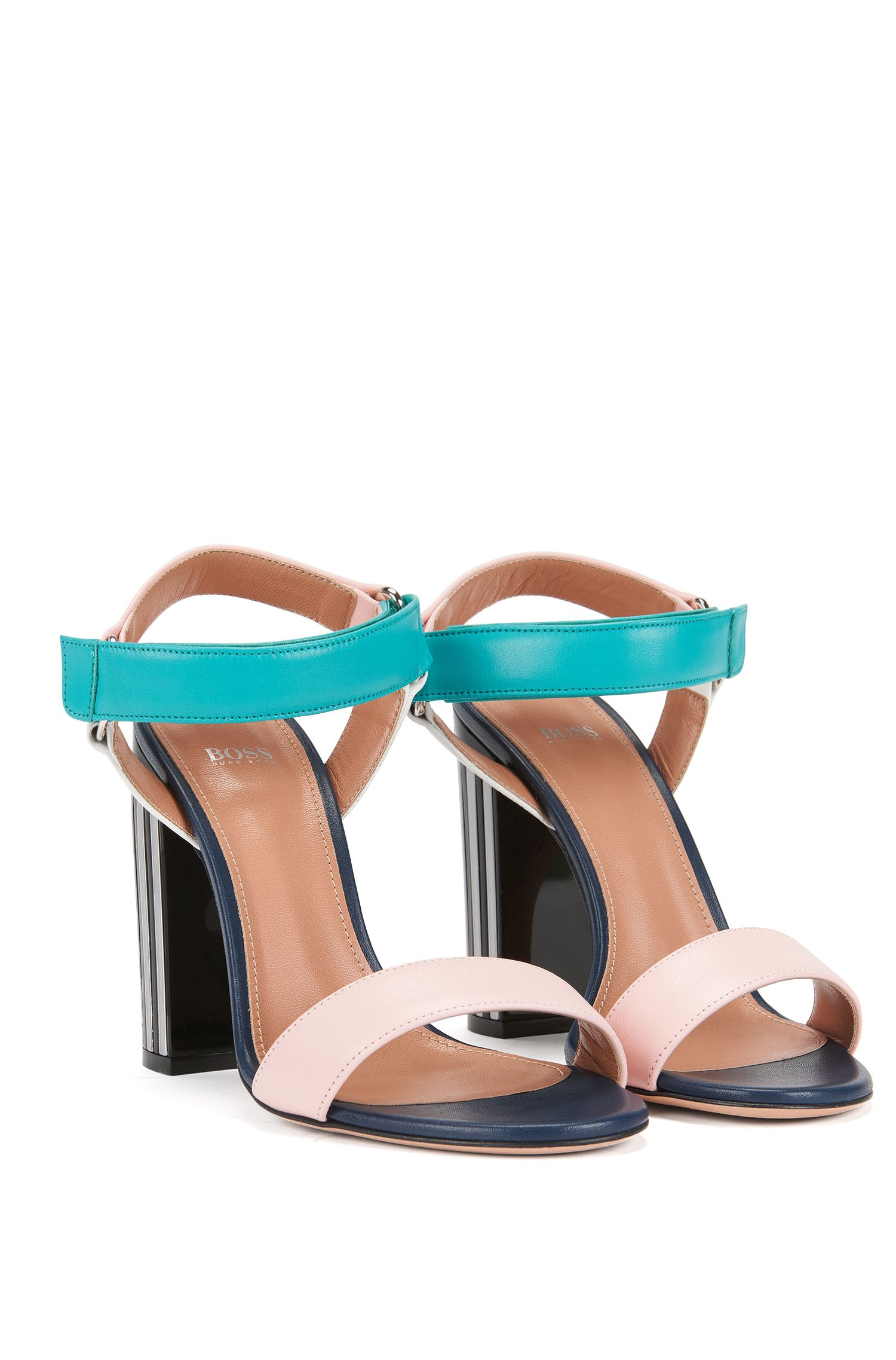 Gallery Collection Italian Leather Sandal | Sandal 100 GC , light pink