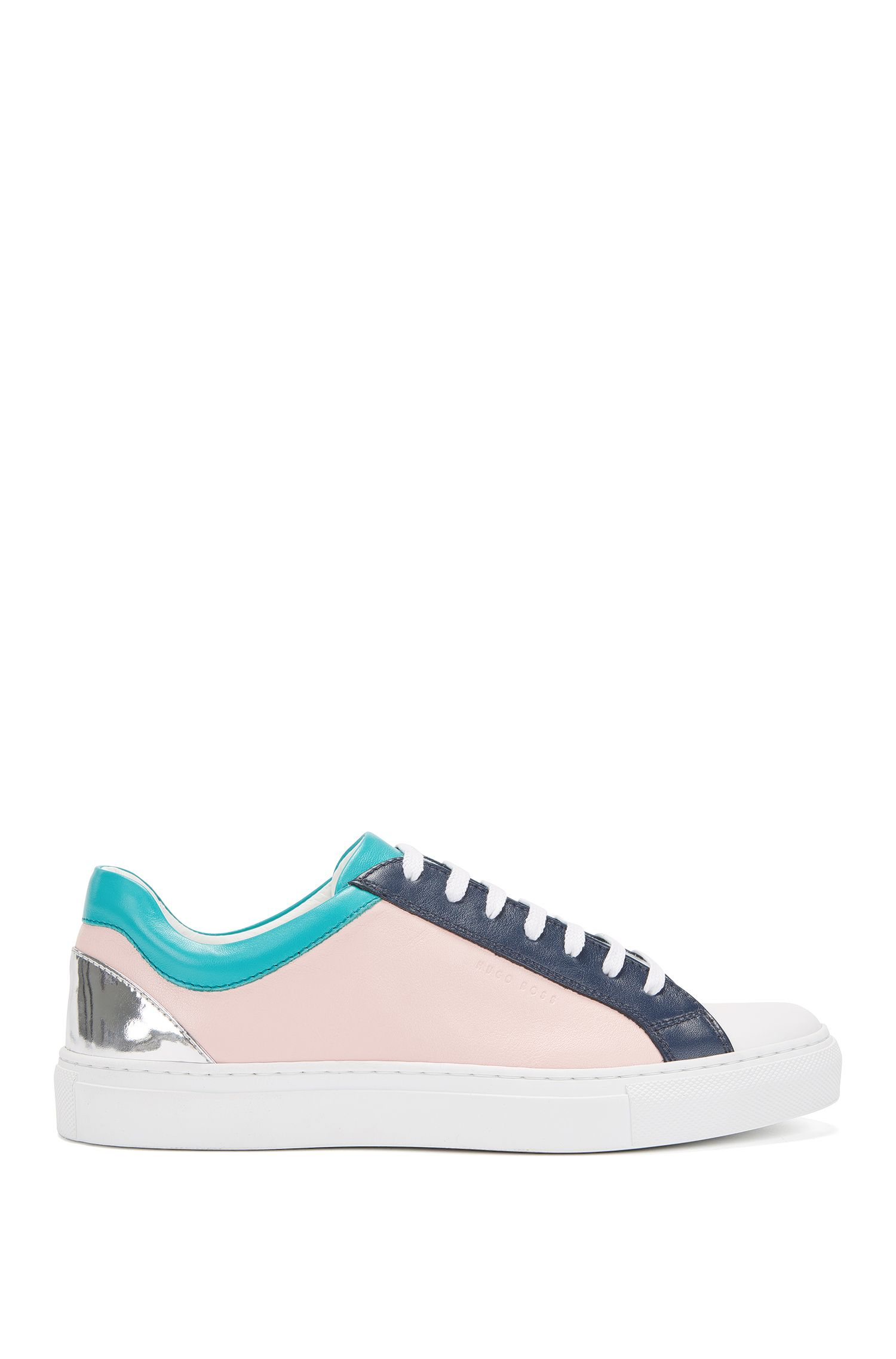 Gallery Collection Colorblocked Low-Cut Sneaker | Low Cut GC, light pink