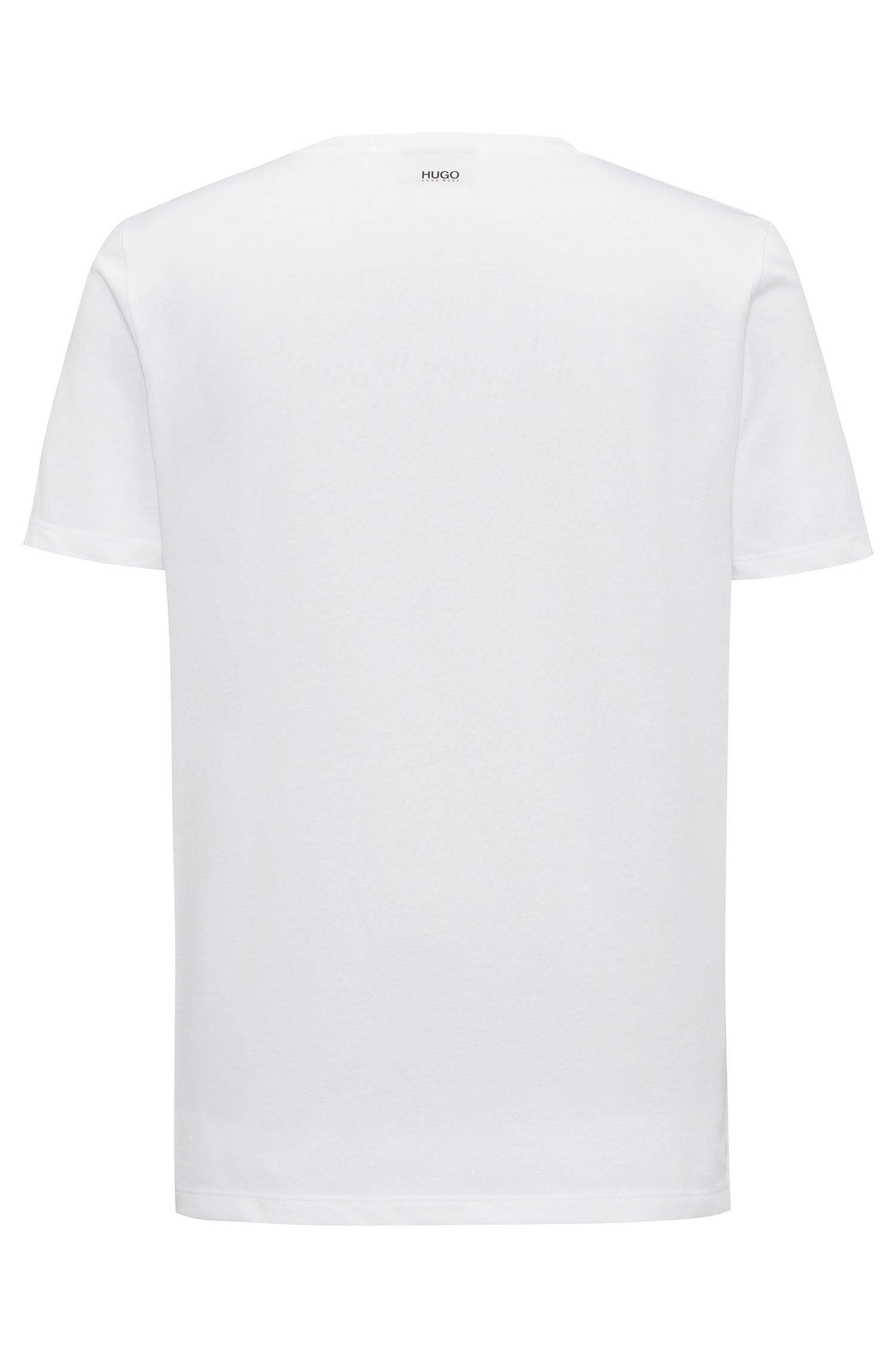 Cotton Blend Graphic Print T-Shirt | Dashy
