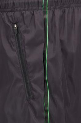 2a8872327 BOSS - Lightweight swim shorts with double waistband