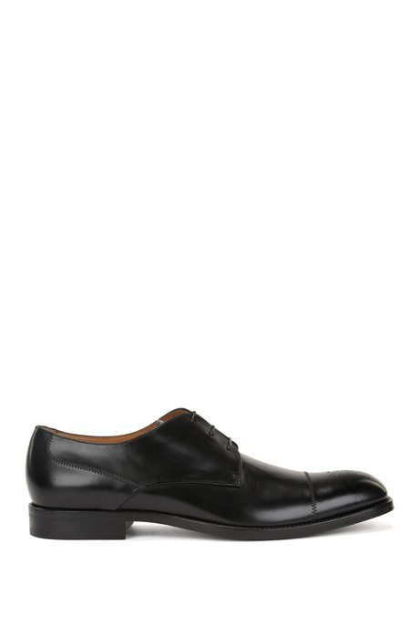 Oxford shoes in burnished calf leather BOSS jzhT4wZ