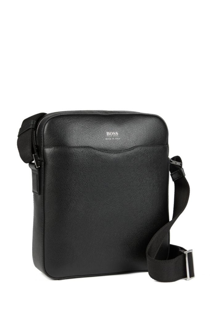 Reporter bag in grained palmellato leather