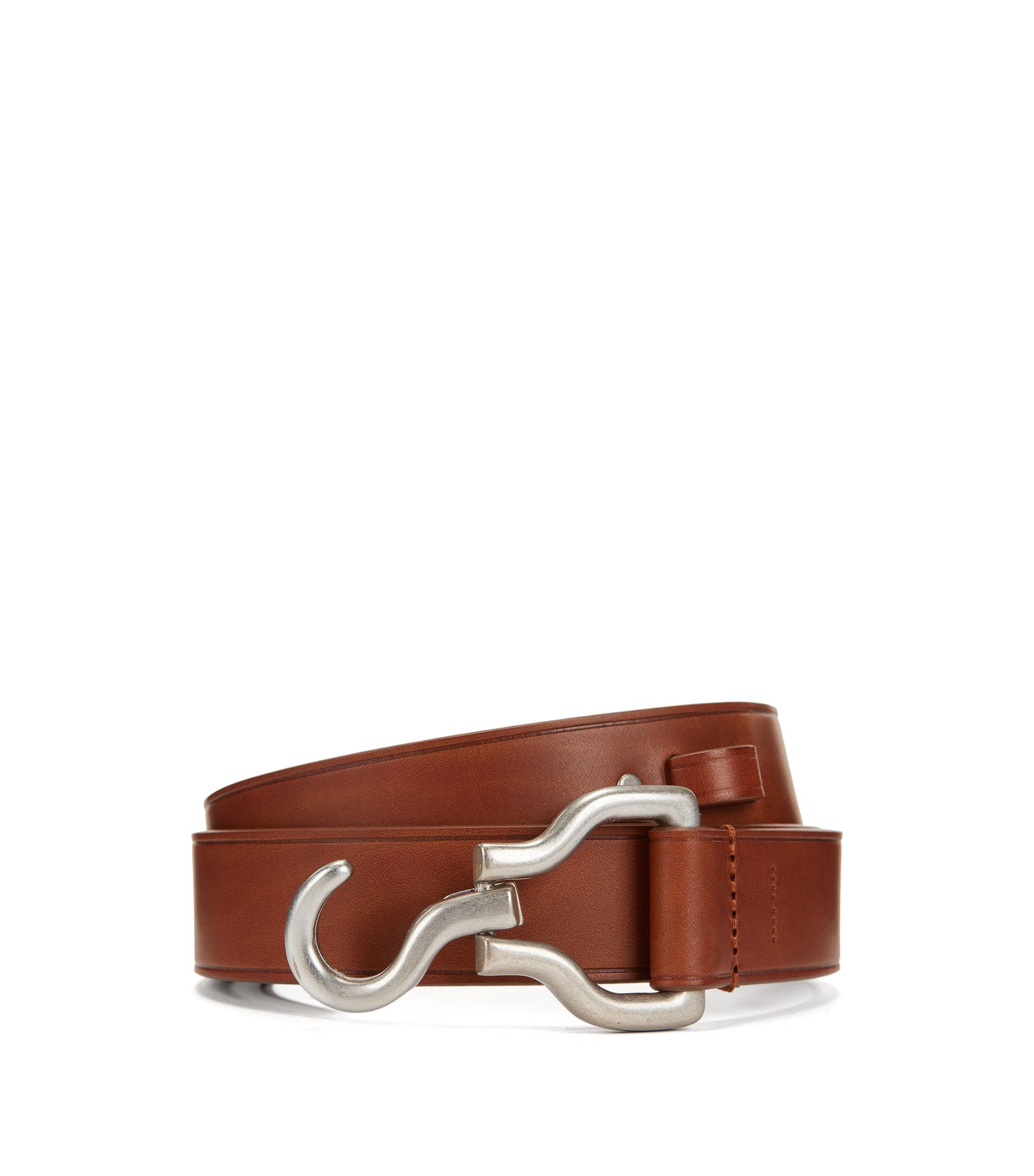 Leather Belt | Frankie FS, Brown
