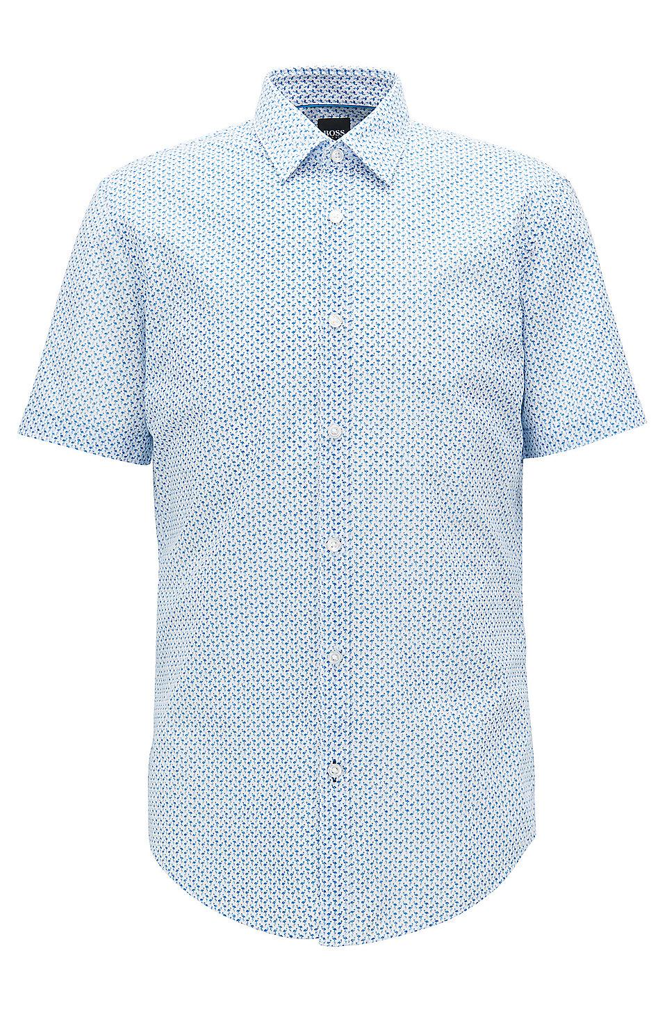 59a3014c4e1f Hugo Boss Slim Fit White Dress Shirt - Cotswold Hire