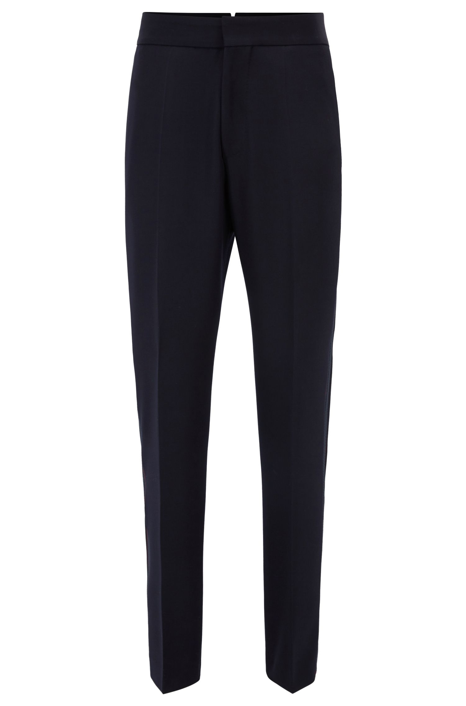 Runway Edition virgin wool trousers with taped side seam | Arden