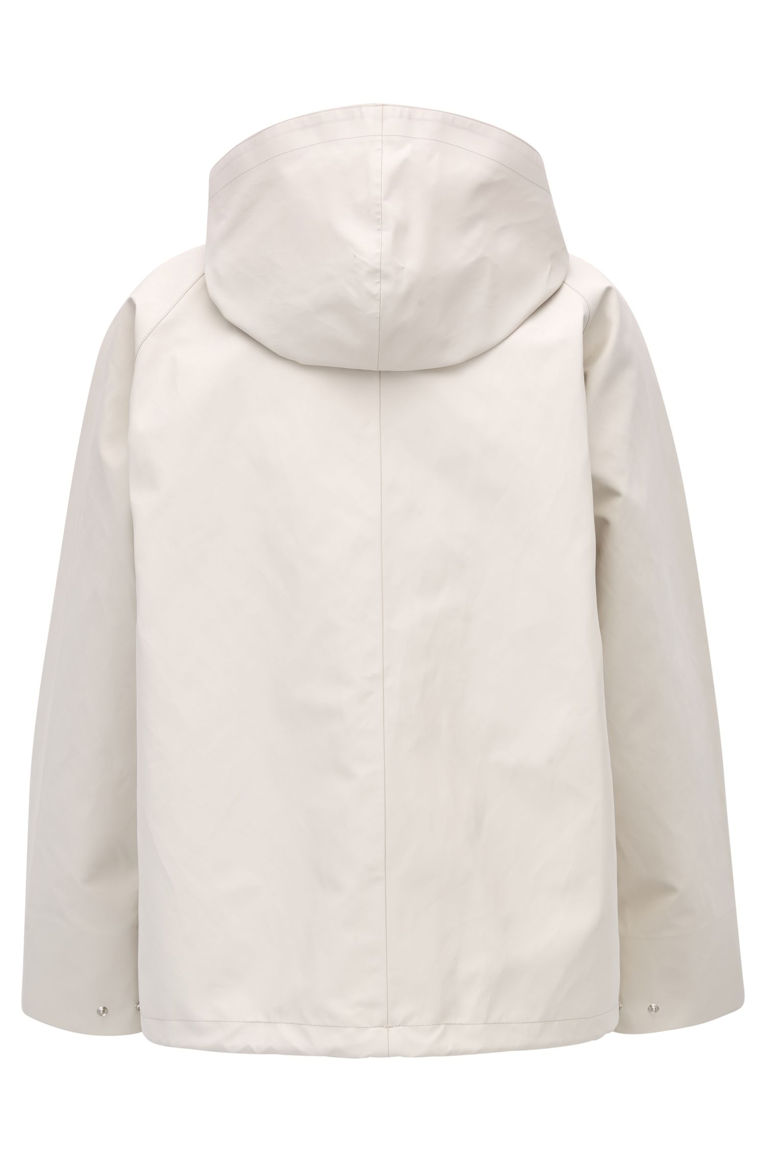 Hooded Breathable Cotton Jacket | Gelly