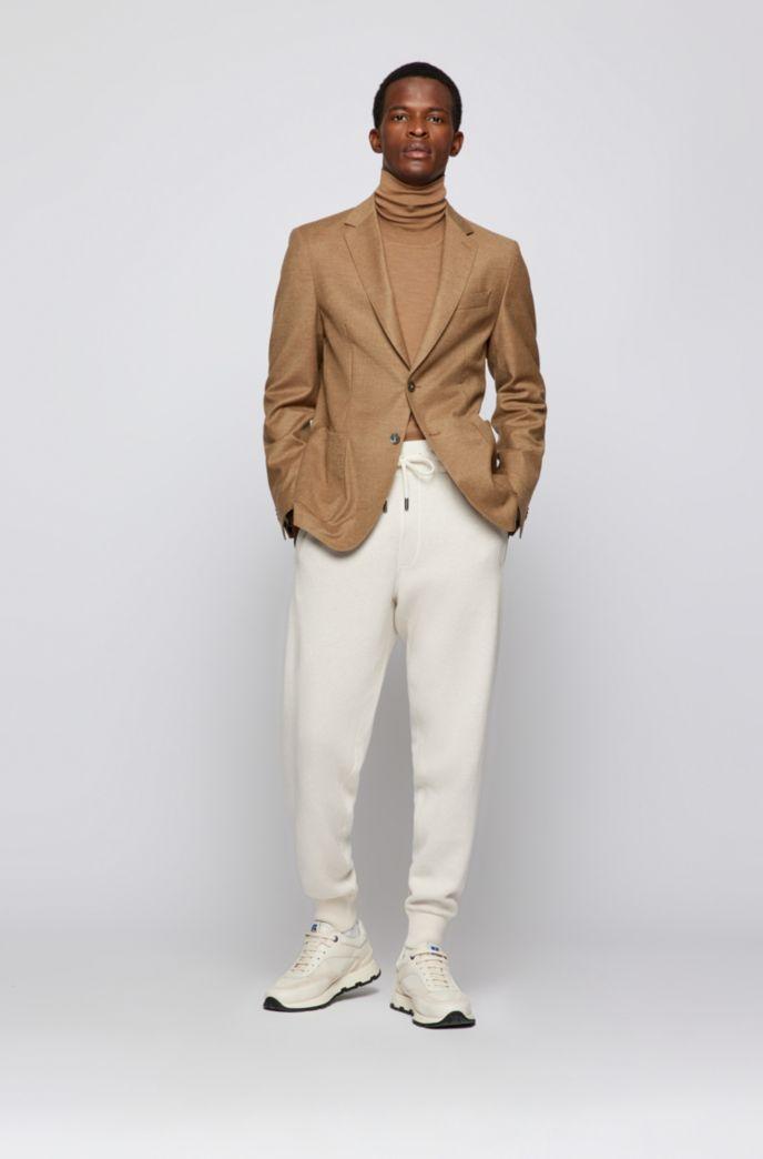 Turtleneck sweater in extra-fine Italian merino wool