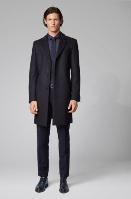 Wool Lapels Formal Coat Cashmere With In Notch And 6fyY7gb