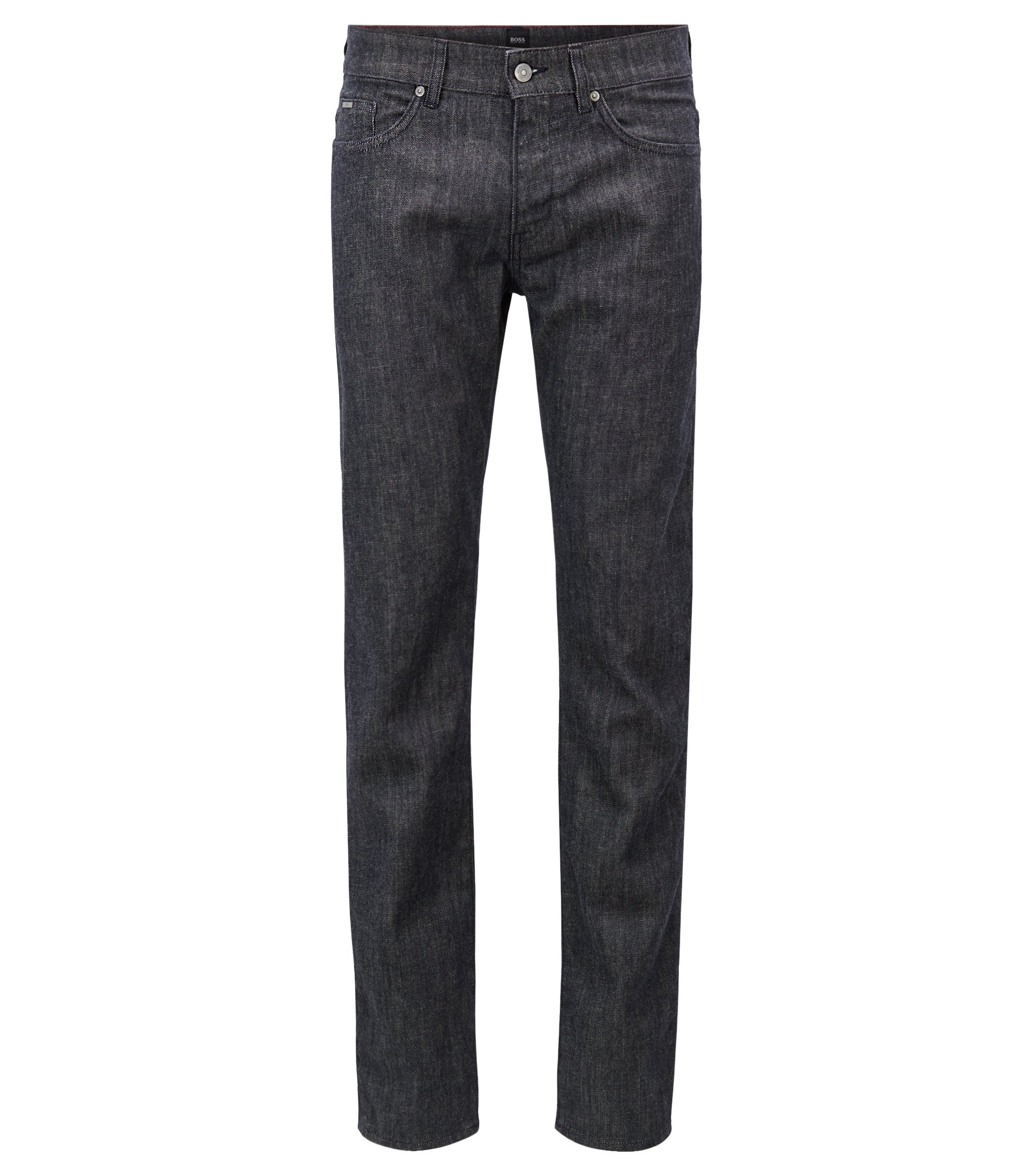 Slim-fit jeans in Stay Dark Italian stretch denim, Dark Blue