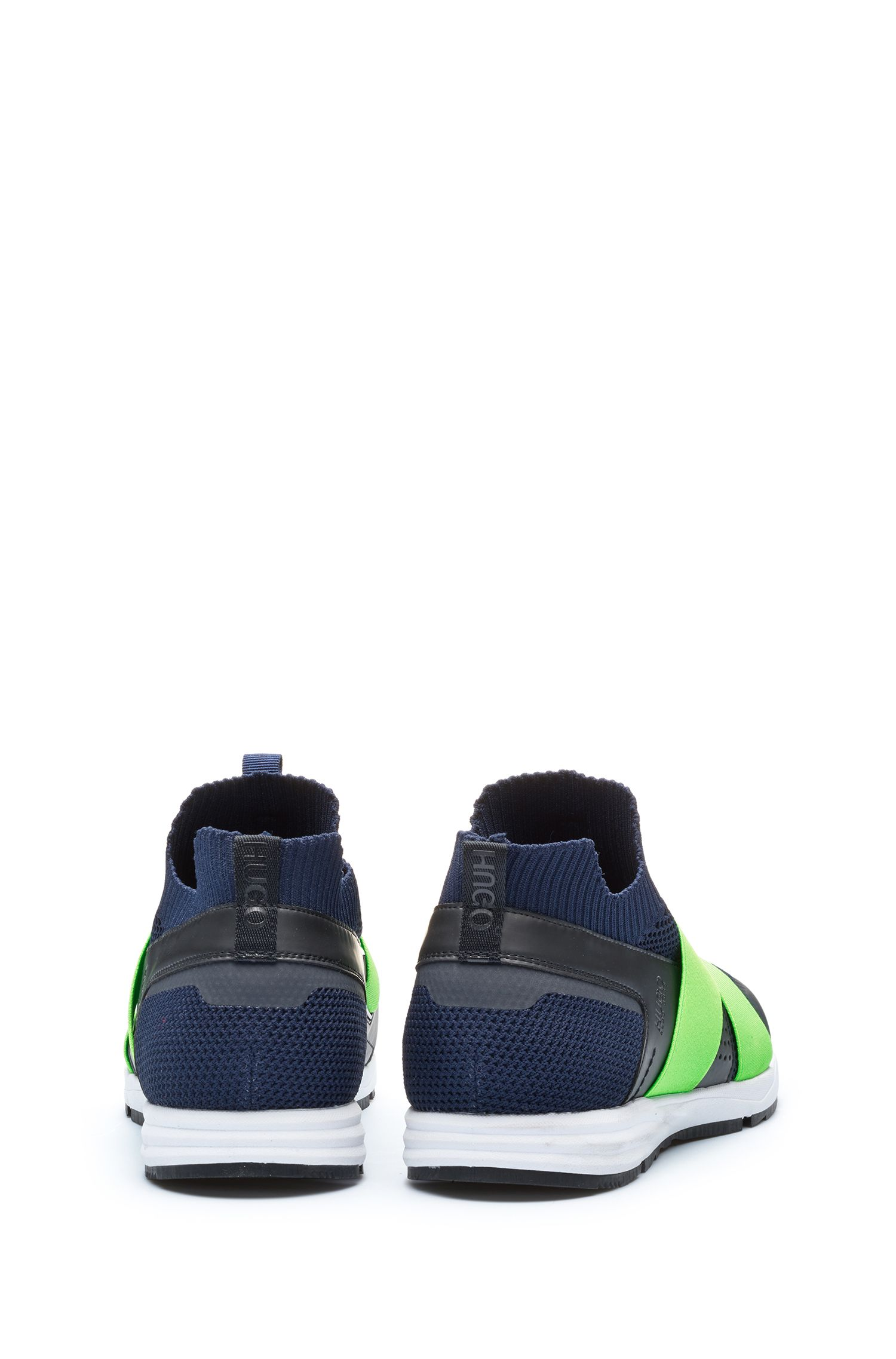 Slip-on hybrid sneakers with Vibram sole, Dark Blue