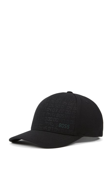 BOSS - Digital-patterned cap with reflective logo and adjustable closure a4324cfc131
