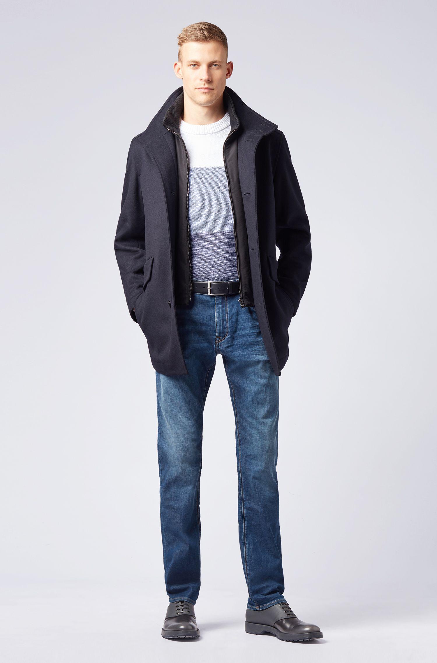 Regular-fit jeans in super-soft stretch denim, Blue
