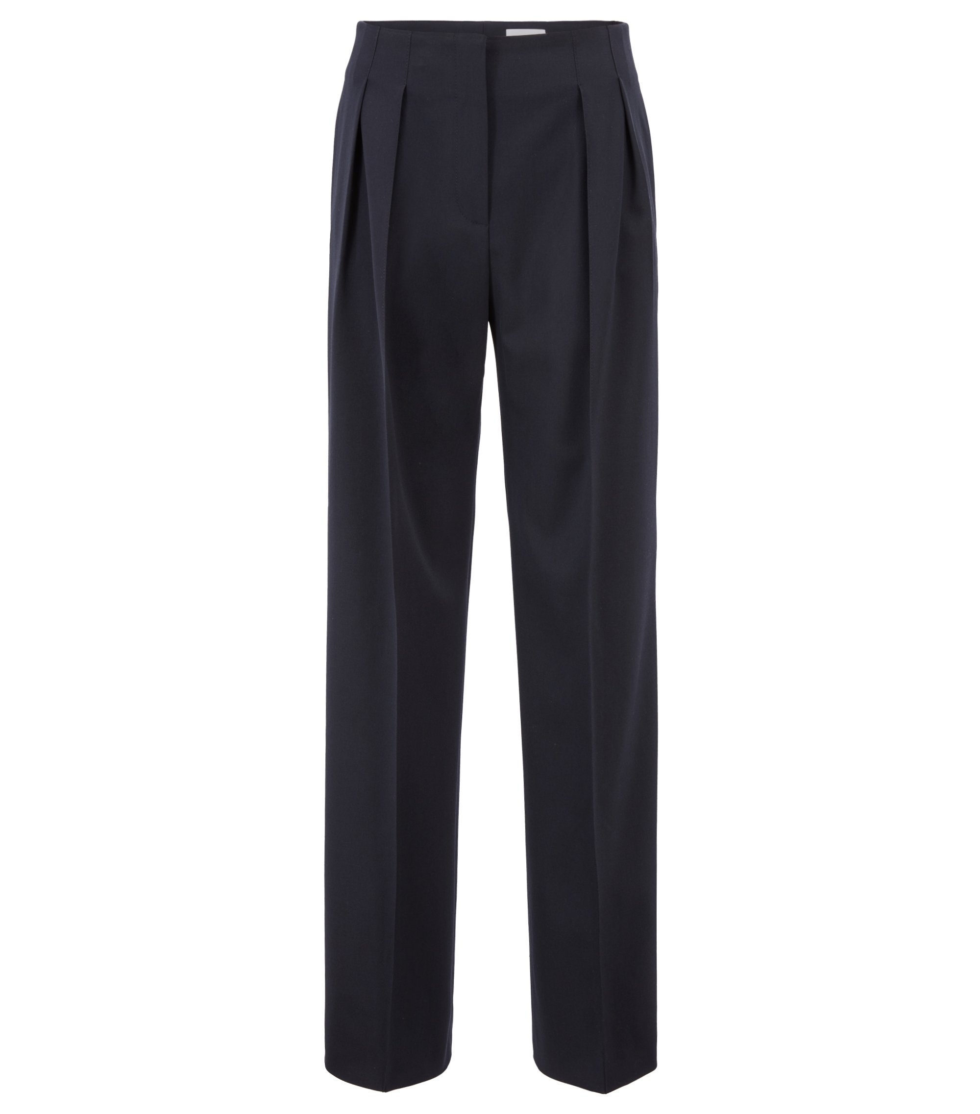 Gallery Collection wide-leg pants with Hollywood waist, Open Blue