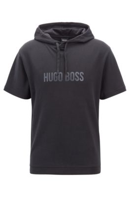 hugo boss hooded t shirt