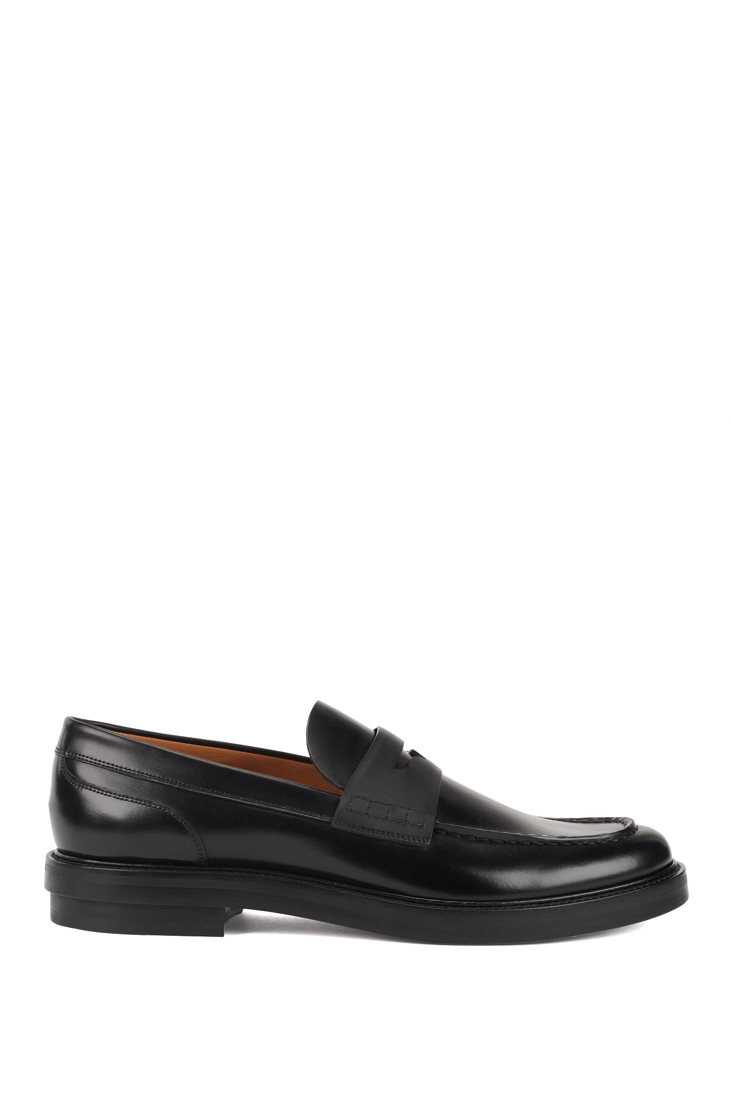 Fashion Show Capsule loafers in calf leather, Black