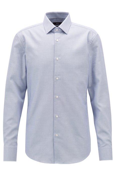 44f3c249 Slim-fit geometric shirt with Fresh Active finishing. Jenno - 50404970