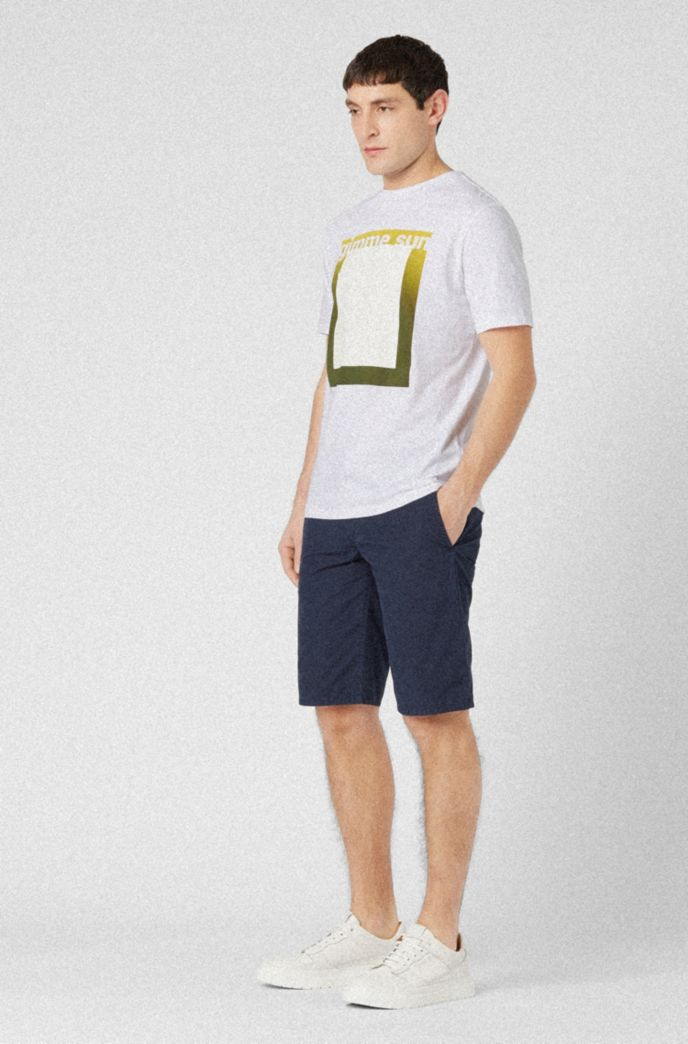 Relaxed-fit T-shirt in eco-friendly recot²® cotton