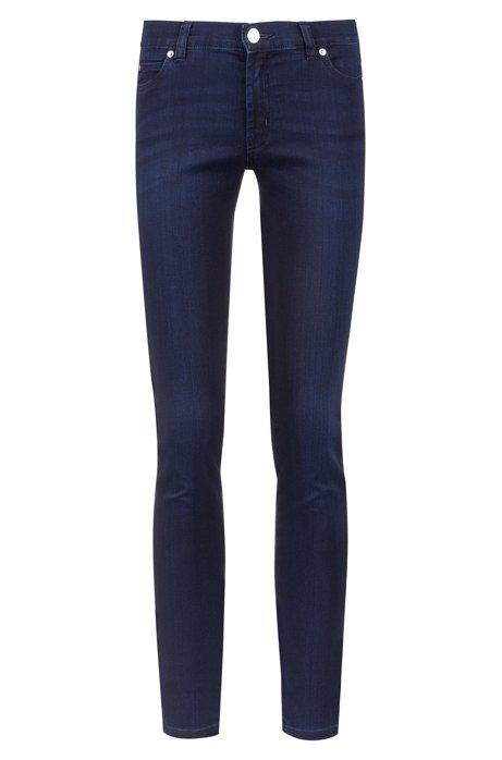 Super skinny fit jeans in stretch denim, Dark Blue