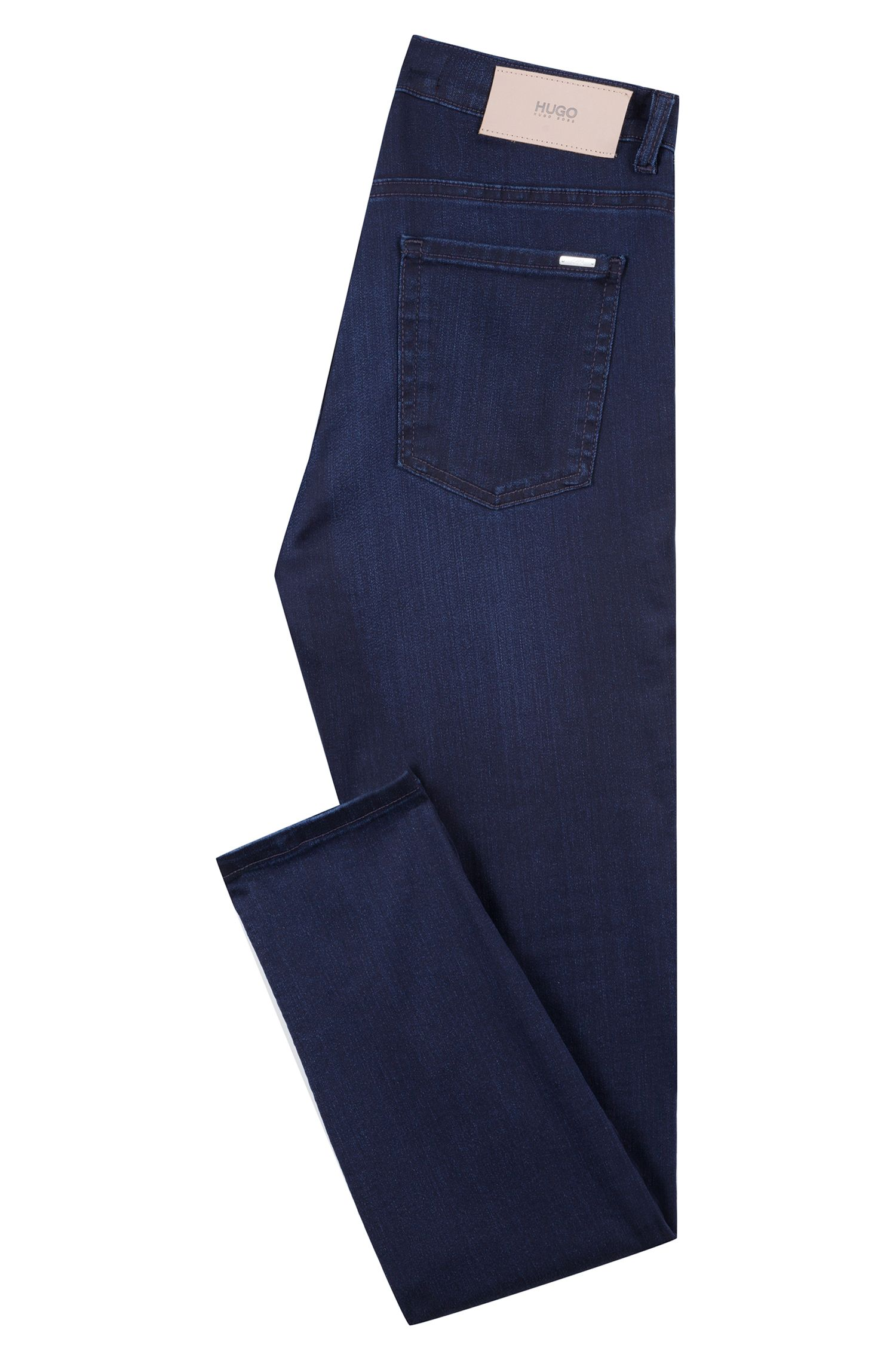 Extra-slim-fit jeans in stretch denim, Dark Blue
