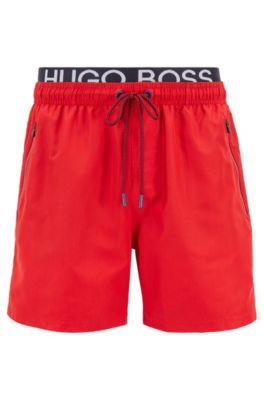0ad9ce358 HUGO BOSS swim shorts for men | Designer trunks