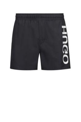 56666fbdcd HUGO BOSS swim shorts for men | Designer trunks