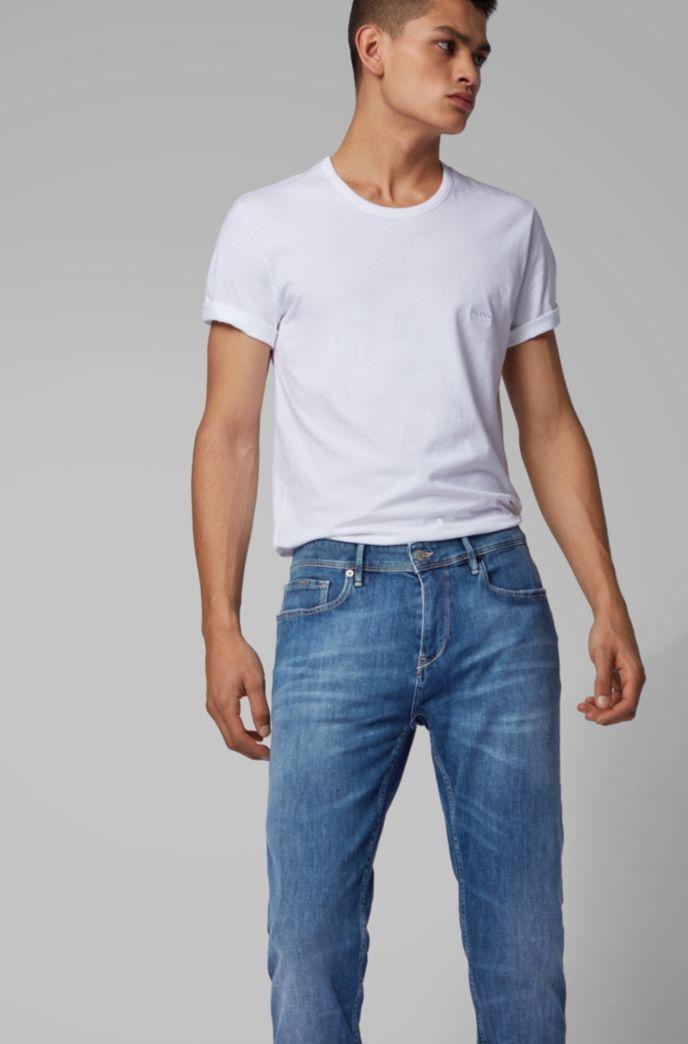 Extra-slim-fit jeans in lightweight Italian stretch denim