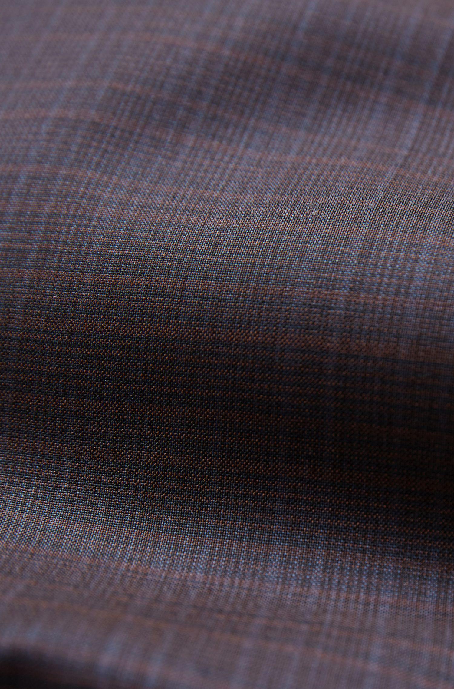 Regular-fit checked jacket in Italian virgin wool, Patterned