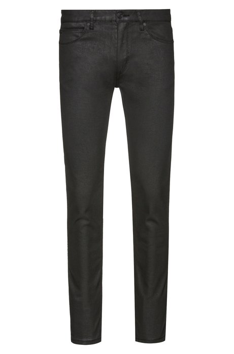 Skinny-fit jeans in black-black stretch denim, Black