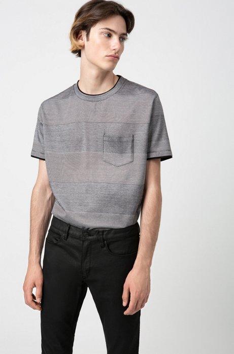 Skinny-fit jeans in black-black stretch denim, Black
