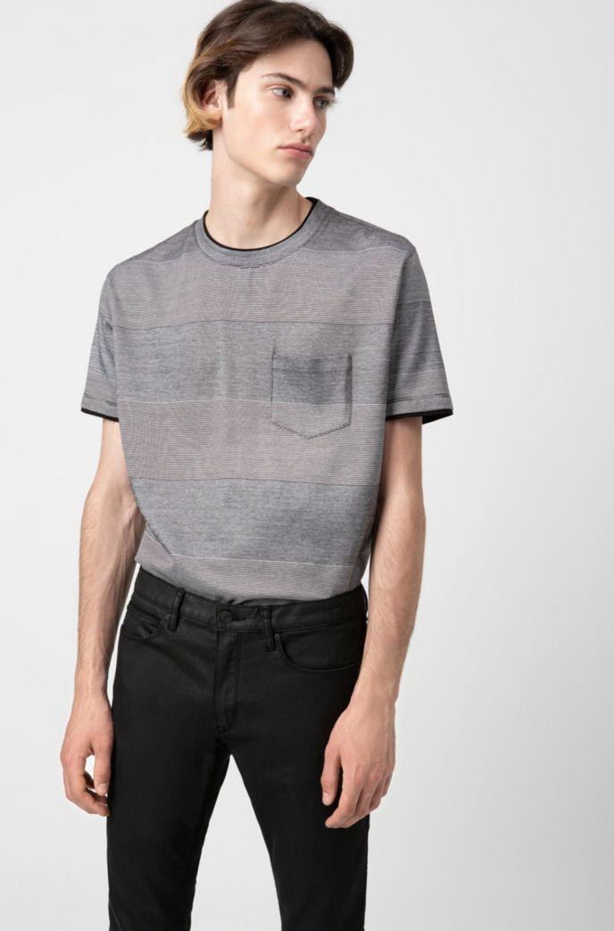 Skinny-fit jeans in black-black stretch denim