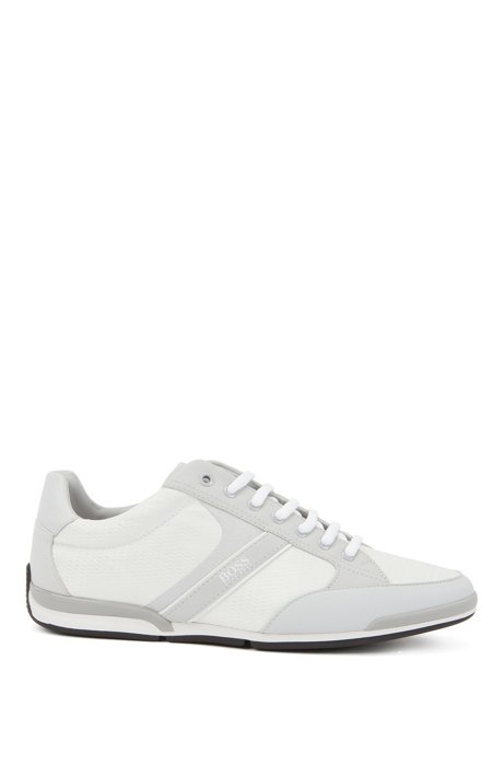 Low-top sneakers with bamboo-charcoal lining, Light Grey