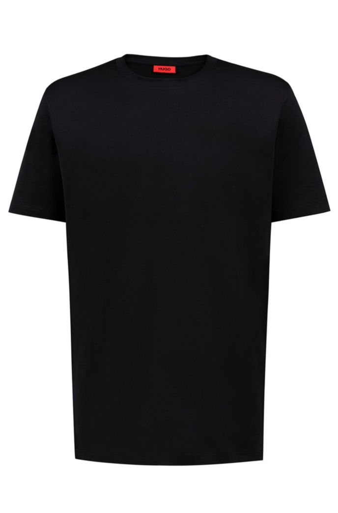 Unisex cotton T-shirt with reversed personalization