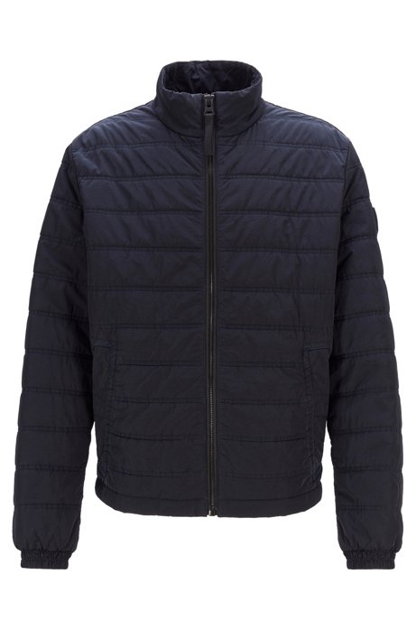 Regular-fit jacket with PrimaLoft® filling, Dark Blue
