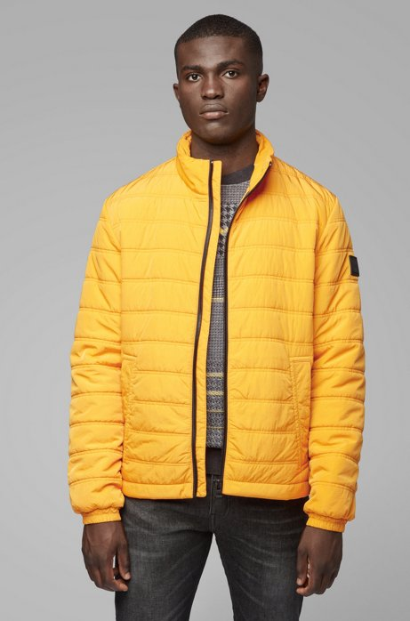 Regular-fit jacket with PrimaLoft® filling, Gold