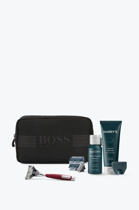 BOSS - Toiletry bag with Harry s shaving set bf4237b564733