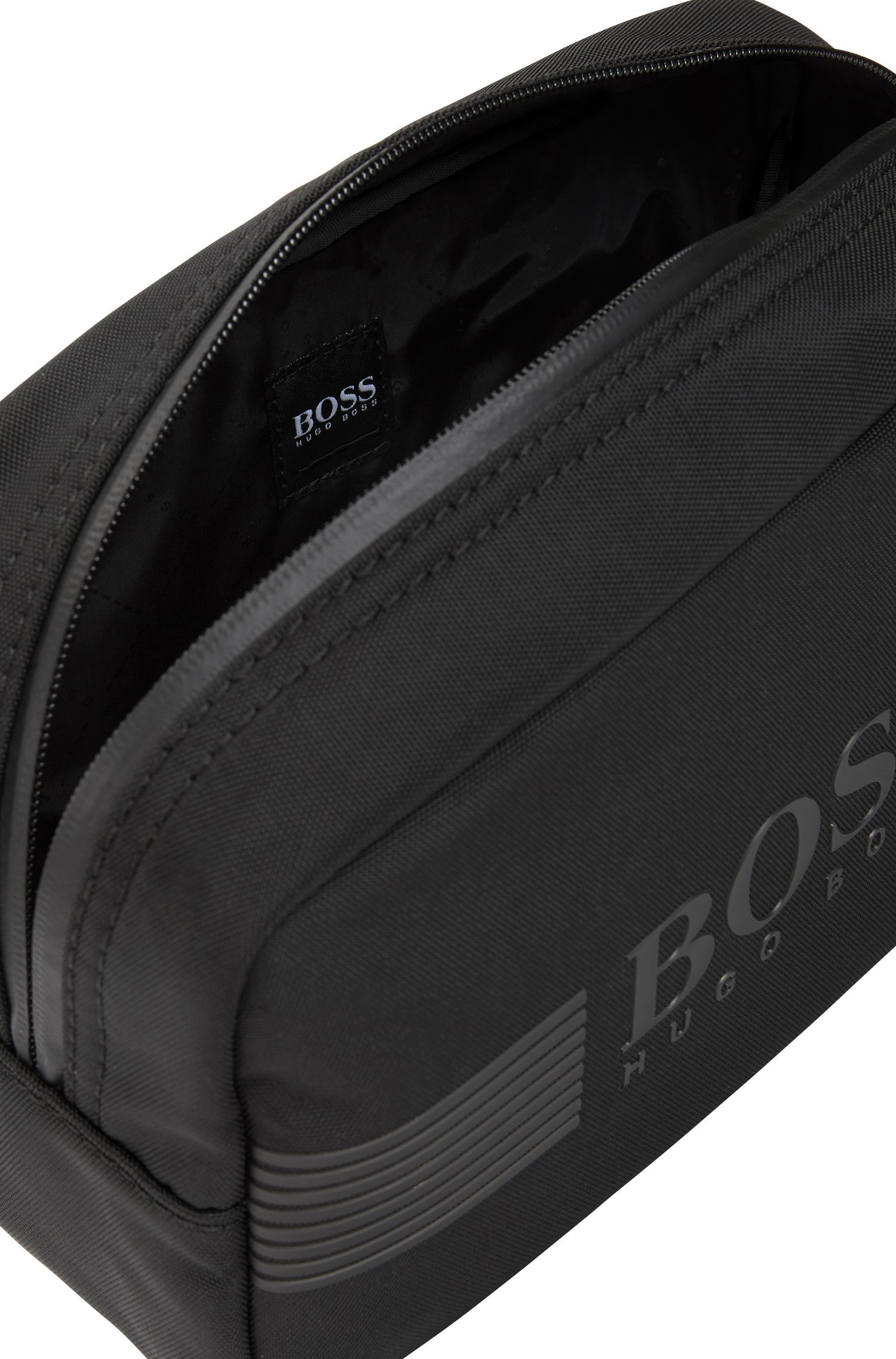 Toiletry bag with Harry's shaving set, Black